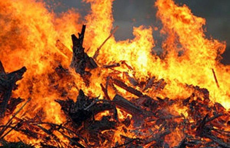 На Закарпатті оголосили пожежну небезпеку