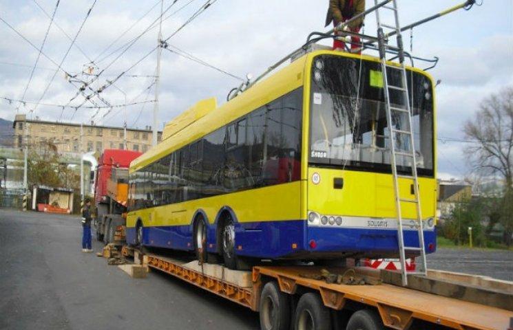 Європа увіллється в Суми беушними тролейбусами