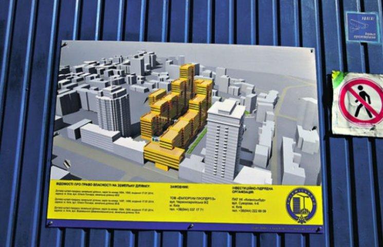 На місці легендарного Сінного ринку в Києві зведуть торгово-офісний центр (ФОТО)