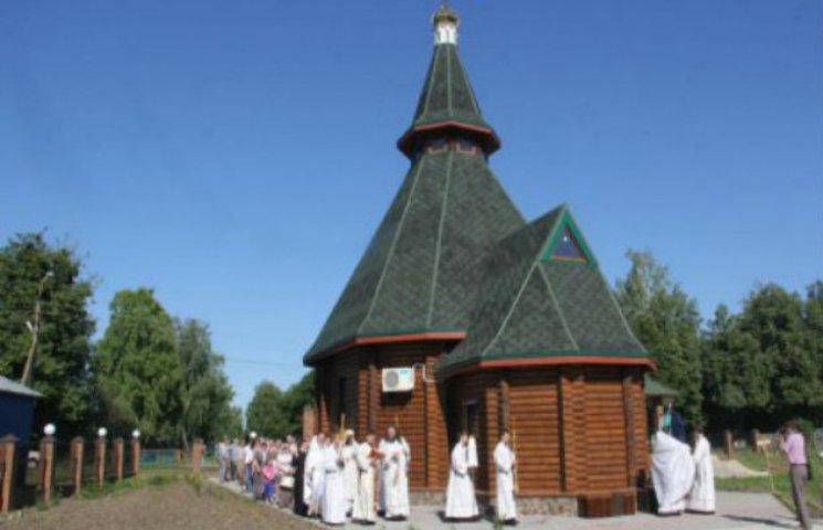 На Сумщині побудували новий храм Московського патріархату