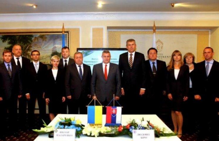 В Ужгороді зустрілися Головні прикордонні Уповноважені України та Словаччини (ФОТОФАКТ)