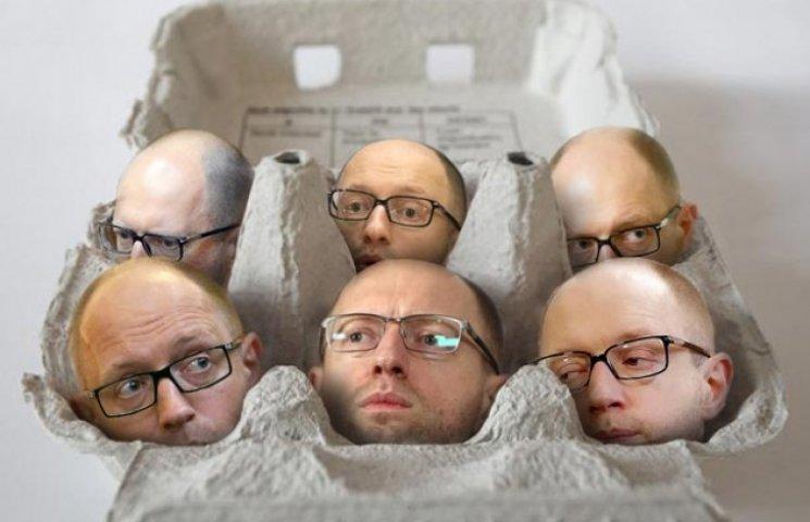 В Одесі Саакашвілі висиджує яйце з політичною смертю Яценюка