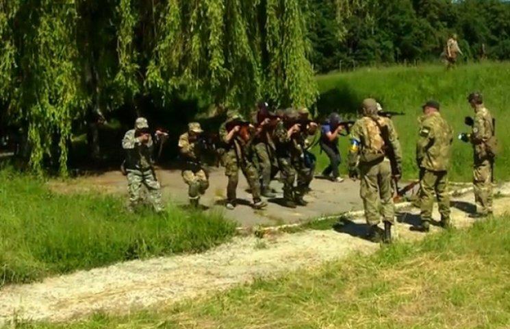 На Сумщині продовжуються навчання загонів тероборони (ВІДЕОФАКТ)