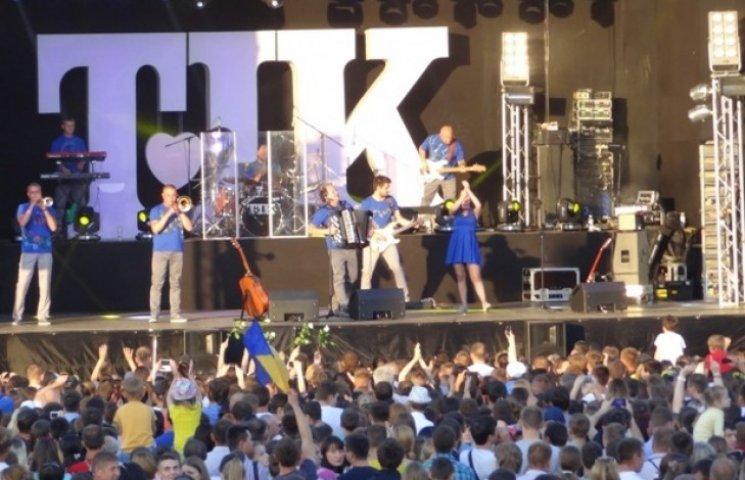 """На фінальний концерт вінницької групи """"ТІК"""" зібралось понад 10 тисяч вінничан"""