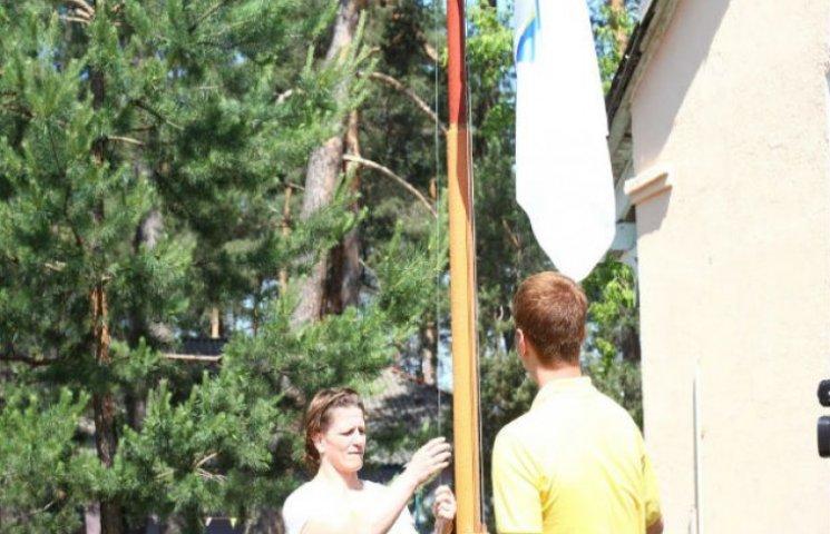 У Сумах підняли олімпійський прапор (ФОТОФАКТ)
