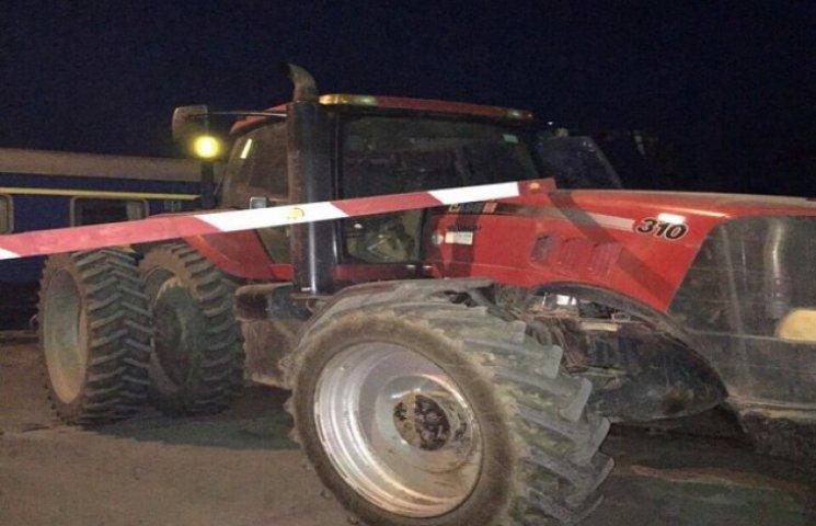 У Війтівцях трактор не розминувся з поїздом