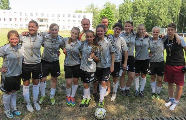 Команда Тульчинської школи-інтернату – чемпіон Вінниччини з футболу серед жінок