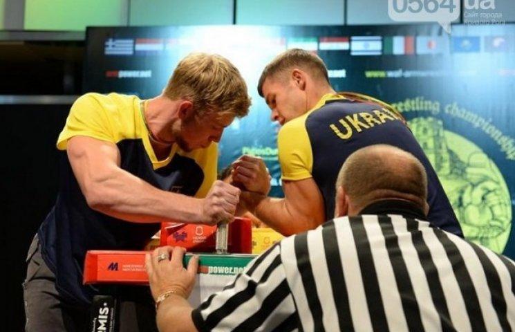 Криворізький спортсмен став чемпіоном Європи з армреслінгу