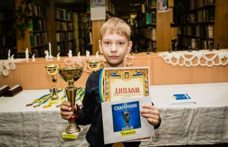 Семирічний шахіст з Хмельниччини візьме участь у світовій першості в Греції