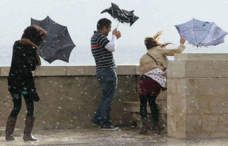 На Київщину насуваються сильні зливи та…