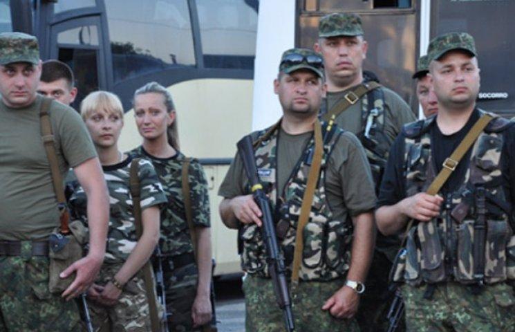Серед сумських правоохоронців, які вирушили у зону АТО, три жінки (ФОТОФАКТ)
