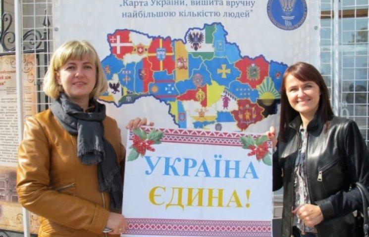 Завдяки вінничанам у Верховній Раді буде карта України