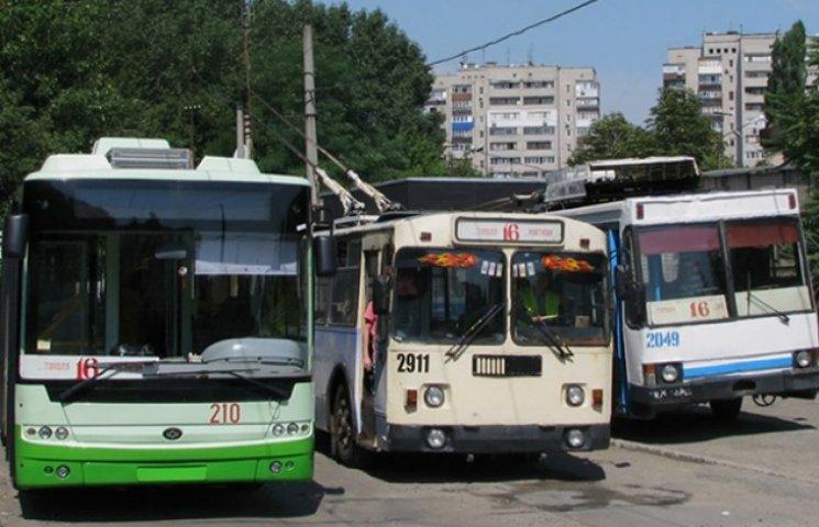 """Сумчани їздитимуть на тролейбусах з """"донецьким корінням"""""""