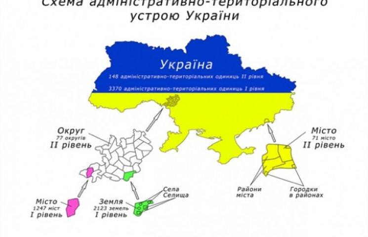 Хмельниччина - одна з восьми областей, що погодили перспективний план розвитку територій