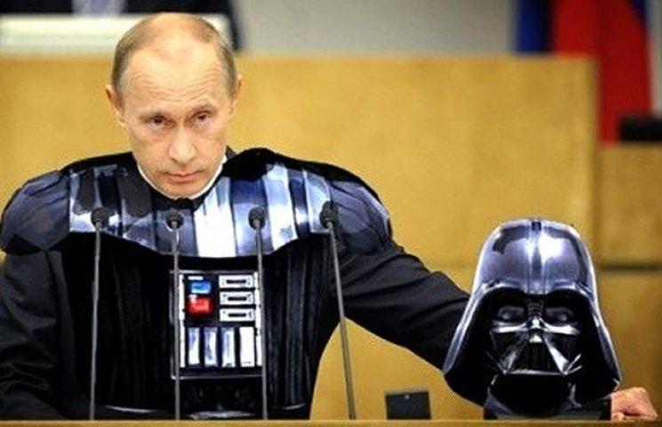 Зоряні війни по-російські. Чи стане Путін імператором Галактики (ФОТОЖАБИ)
