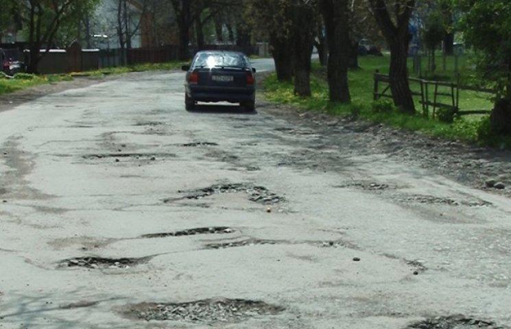 Хмельницька область на 6 місці в антирейтингу доріг України