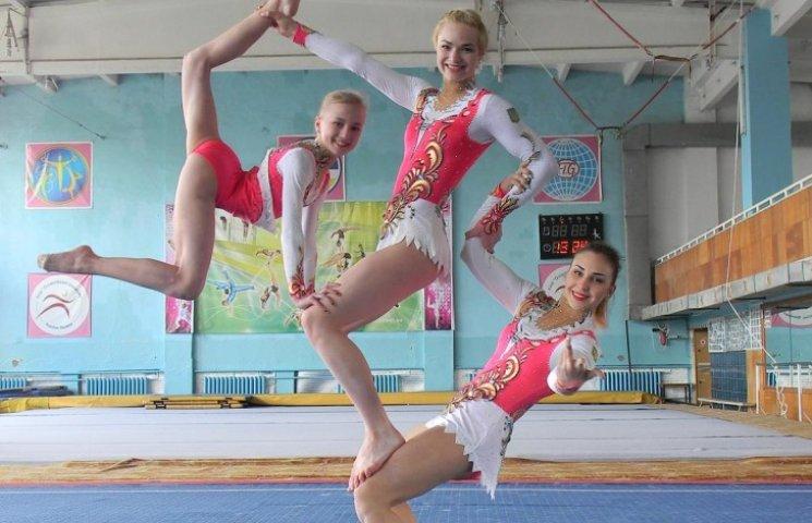 Вінницькі акробати стали четвертими на Європейських іграх