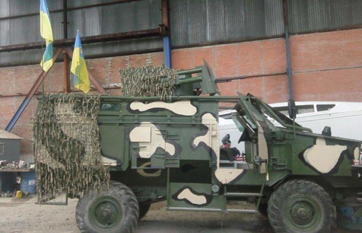 У Сумах збудували штурмовий броньовик за стандартами НАТО (ФОТОФАКТ)