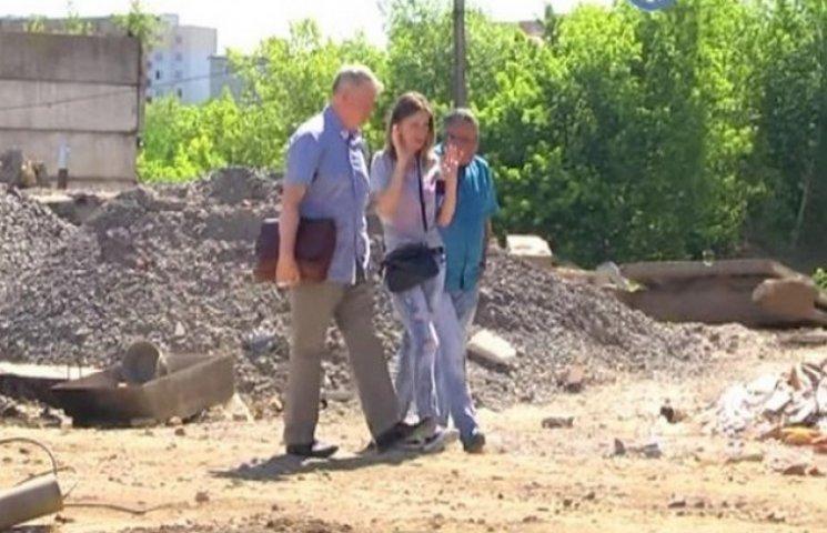 Хмельничани виступають проти забудови на Проспекті Миру