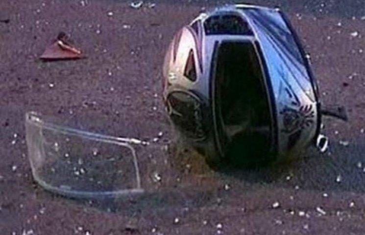 На Сумщині померла дівчина, збита мотоциклістом у погонах