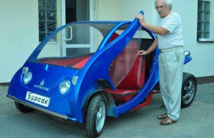 Киянин виробляє власні автівки по 18 тис грн (ФОТО)