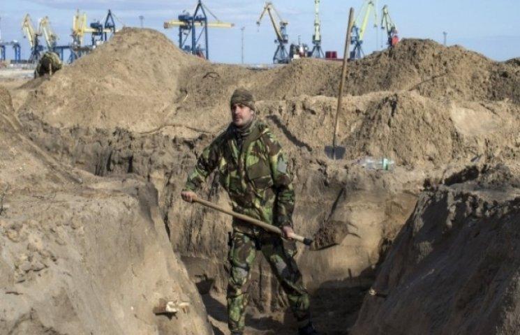Хмельниччина звела дві третіх фортифікаційних споруд в зоні АТО
