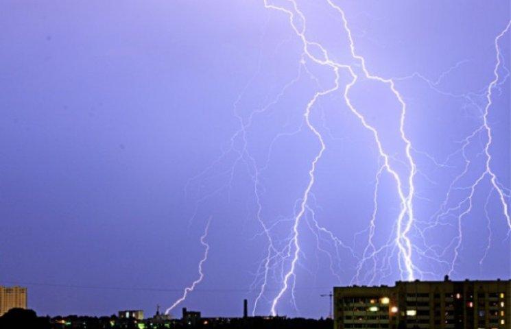Метеорологи повідомили про можливі грози у Дніпропетровську