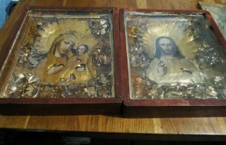 На Сумщині впіймали церковного крадія, який збував ікони по 50 гривень