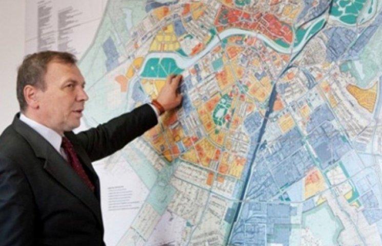 Погорєлов наклав на генплан Ужгорода вето