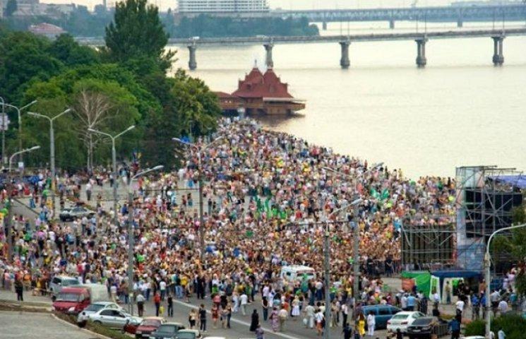 До Дня молоді у Дніпропетровську одночасно проходитимуть три фестивалі