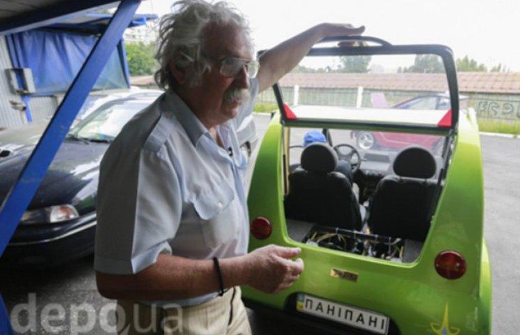 Киянин, що продає машини по 15 тисяч гривень, взявся за виробництво електрокарів (ВІДЕО)