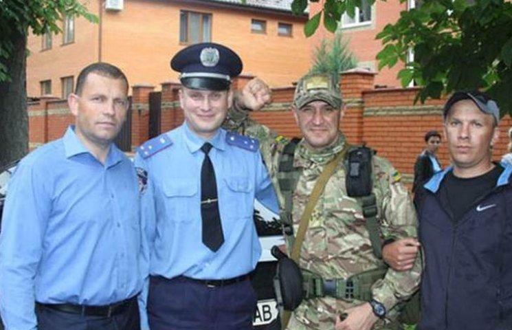 Вінницькі поліцейські поїхали виконувати бойові завдання в АТО