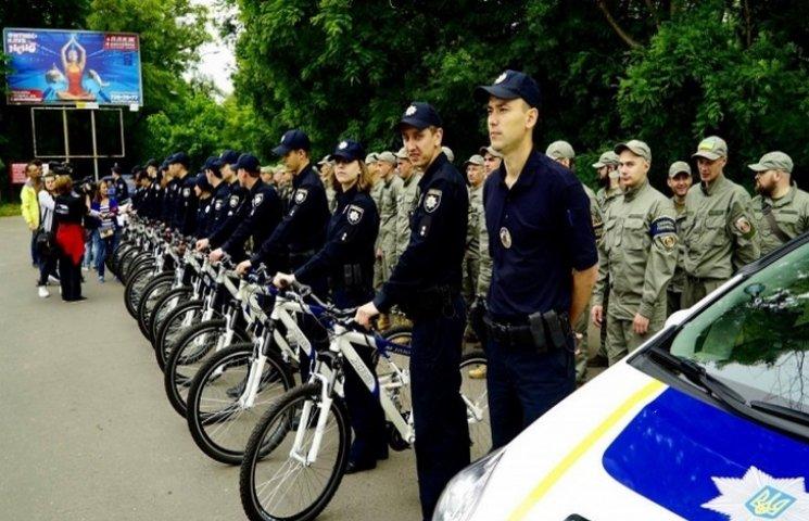 В Одесі запустили велопатруль