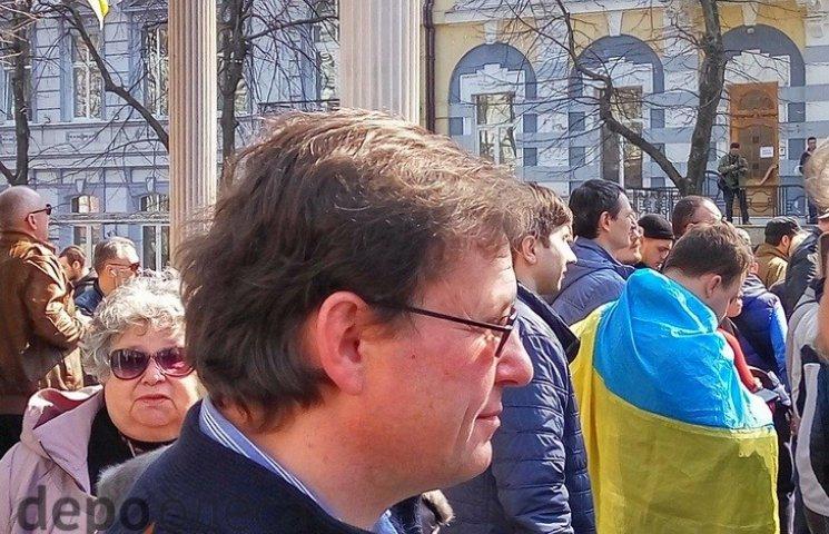 Боровик заявив, що залишиться в Одесі