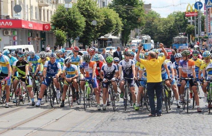 У Вінниці стартували міжнародні велогонки