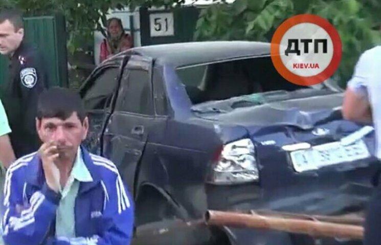 Страшное ДТП на Киевщине: водитель на скорости 140 км сбил детей (ФОТО 18+)
