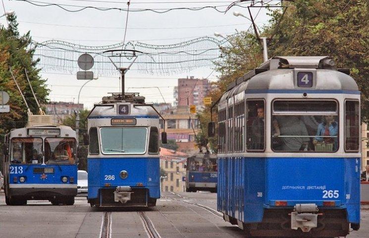 Відсьогодні вінницькі трамваї курсуватимуть за новою схемою