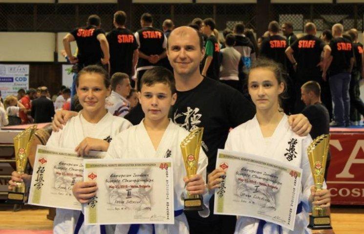 Каратисти з Миколаївщини посіли призові місця на Чемпіонаті Європи