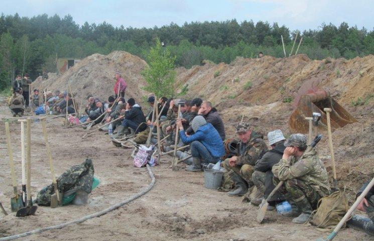 В Ровно посчитали нелегальных добытчиков…