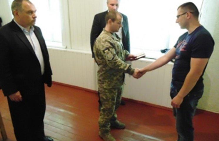 Ще один боєць АТО з Хмельниччини отримав орден
