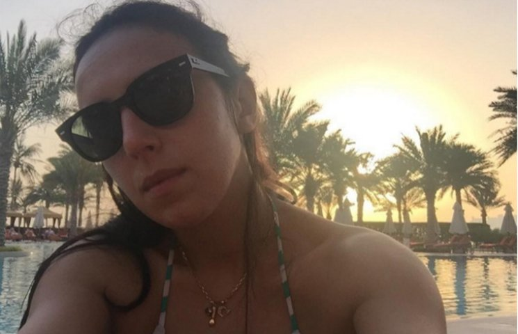 Джамала без макіяжу показала, як відпочиває в Дубаї
