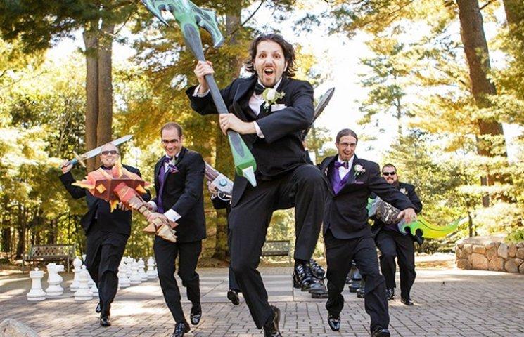 20 найкрутіших тематичних весіль
