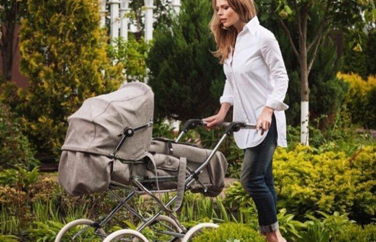 Фреймут показала, як знімалася в рекламі на 9-му місяці вагітності