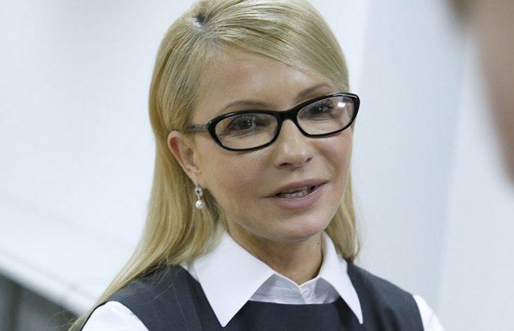 Тимошенко відхрестилася від посмішок Савченко Захарченку