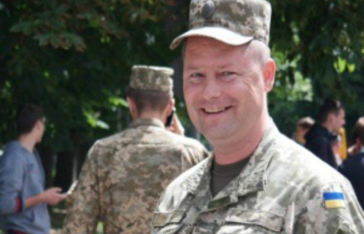 Бійця АТО призначили військовим комісаром Полтавської області