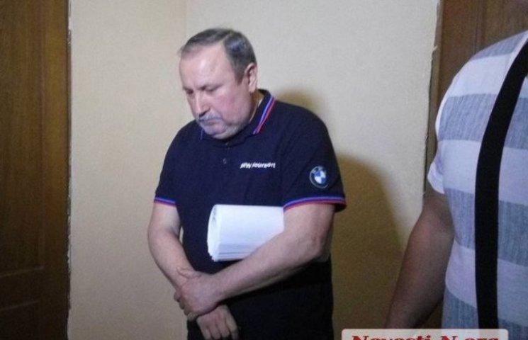 Заступник голови Миколаївської ОДА в суді заявив, що йому погано