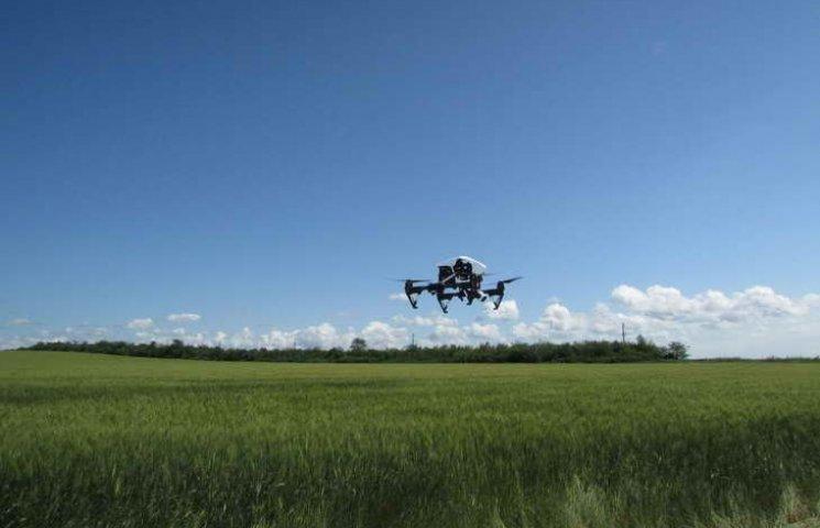 Аграрії використовують безпілотники для інвентаризації земель
