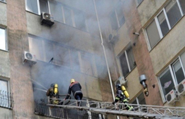 В Одесі в багатоповерхівці палала квартира