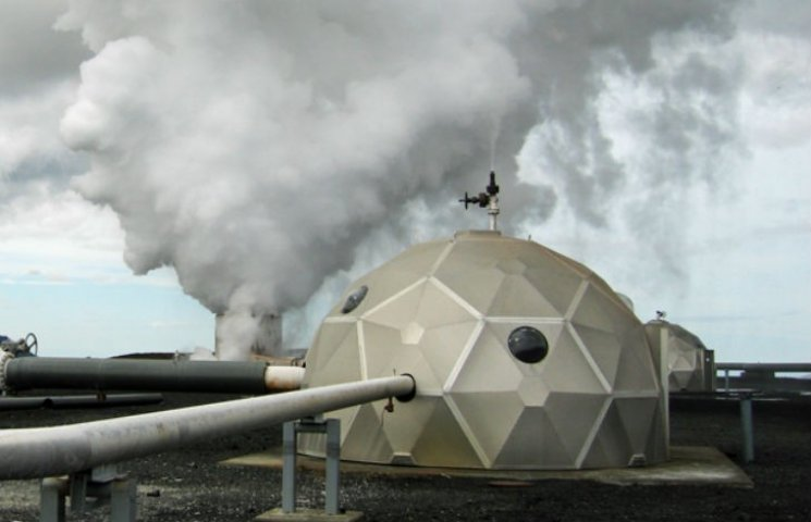 Як із вуглекислого газу в Ісландії роблять каміння