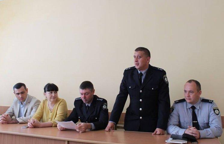 У Хмельницькому районі новий очільник поліції